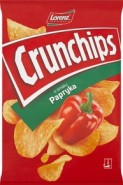 CRUNCHIPS PAPRYKA 140G/8