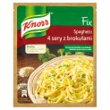 KNORR FIX DO SPAGHETTI 4 SERY Z BROKUŁAMI 43G